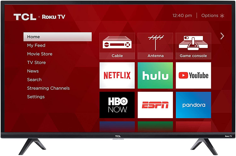 "TCL 40"" Class 3-Series LED Full HD 1080p Smart Roku TV"