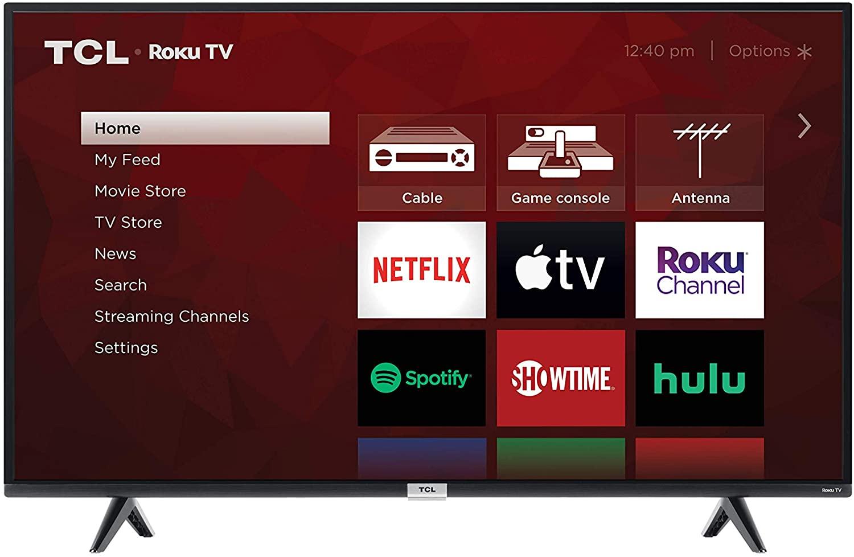"TCL 43"" Class 4-Series 4K UHD HDR Smart Roku TV"