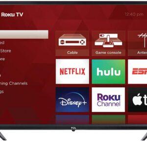 "TCL 32"" 3-Series 720p ROKU Smart TV"
