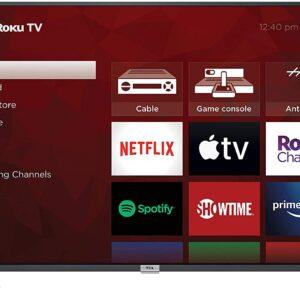 "TCL 50"" Class 4-Series 4K UHD HDR Smart Roku TV"