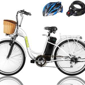 """NAKTO 26"""" 250W Cargo Electric Bike"""