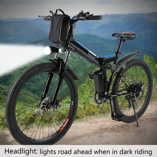 "Angotrade 26"" Folding Mountain Electric Bike"
