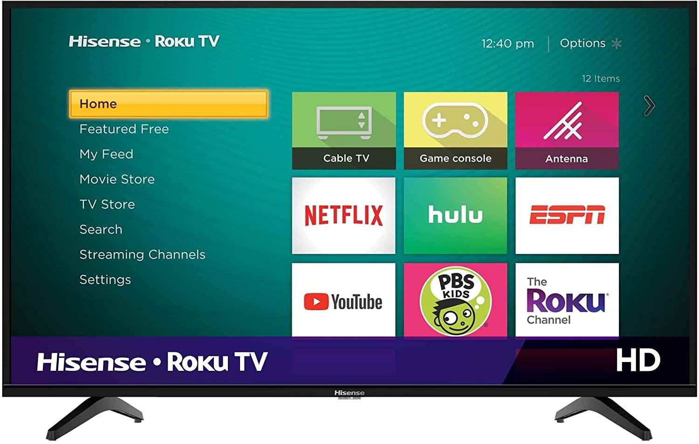 "Hisense 32"" Class H4F Series Smart Roku TV"