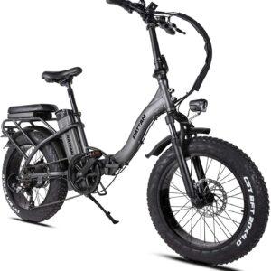 Rattan 750w Folding Snow Commuter All Terrain Electric Bike