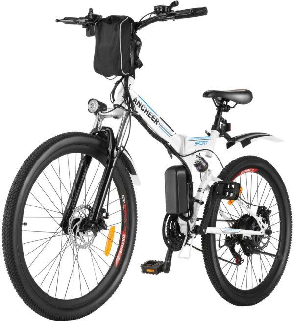 ANCHEER 26'' EB003 Folding Sports Road Electric Bike
