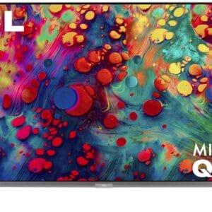 TCL 65″ 6-Series 4K UHD HDR Mini-LED QLED ROKU Smart TV