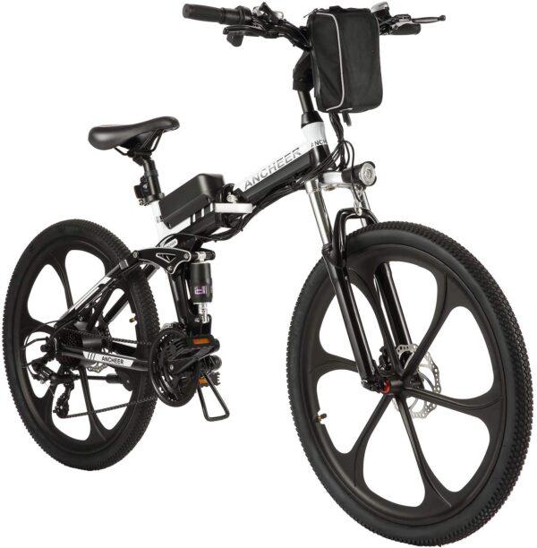 "ANCHEER 26"" EB002 Folding Mountain Electric Bike"