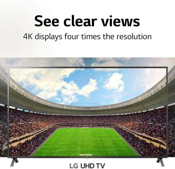 "LG 50"" Series 4K UHD Smart TV"