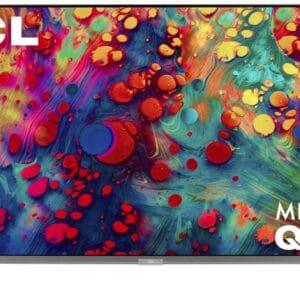 TCL 75″ 6-Series 4K UHD HDR Mini-LED QLED ROKU Smart TV