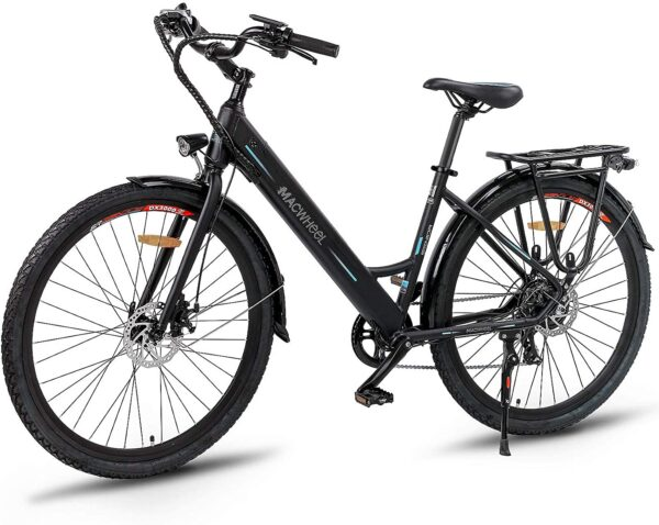 "Macwheel 26"" Shimano 7-Speed Electric Bike"