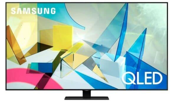 "Samsung 75"" Class Q80T Series 4K UHD Quantum HDR Smart QLED TV"
