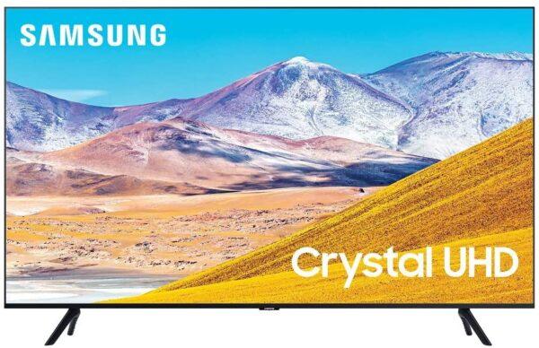 "SAMSUNG 75"" TU8000 Class Crystal 4K UHD HDR Smart TV"