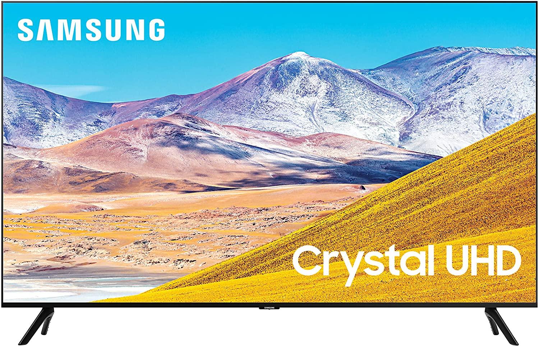 "SAMSUNG 85"" TU8000 Class Crystal 4K UHD HDR Smart TV"