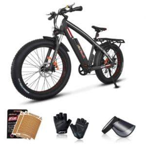 Addmotor 26-inch 750w All Terrain Powerful Electric Bike