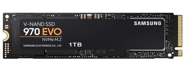 Samsung 970 EVO V-NAND SSD 1TB NVMe M.2 Solid State Drive