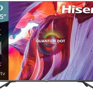 Hisense 55-Inch Class H8 Quantum Series 4K ULED Smart Android TV