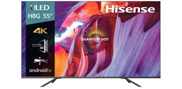 Hisense 55-Inch Class H8 Quantum Series 4K ULED Smart Android TV