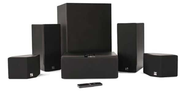 Enclave Audio CineHome HD 5.1 Wireless Home Theater System