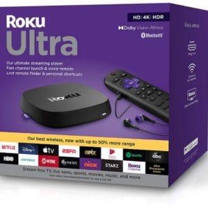 Roku Ultra HD 4K HDR Media Player