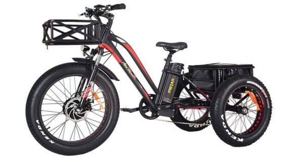 Addmotor 24-inch 750w Adult Trike Electric Cruiser Bike