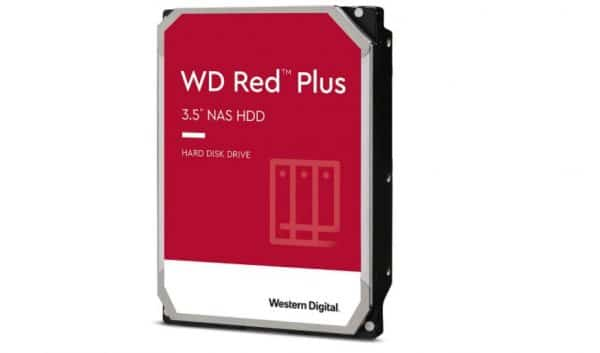 Western Digital 3TB WD Red Plus NAS Internal Hard Drive