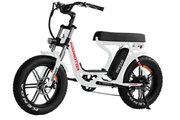 "Addmotor 20"" 750w Fat Tire Commuter Electric Cruiser Bike"