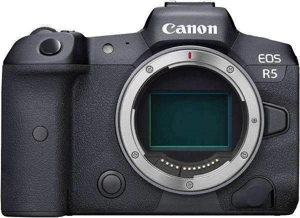 Canon EOS R5 8K Video Mirrorless Digital Camera