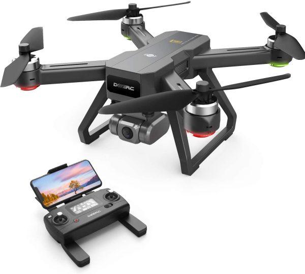 DEERC D15 GPS Drone with GIS Auto Return 4K UHD Camera