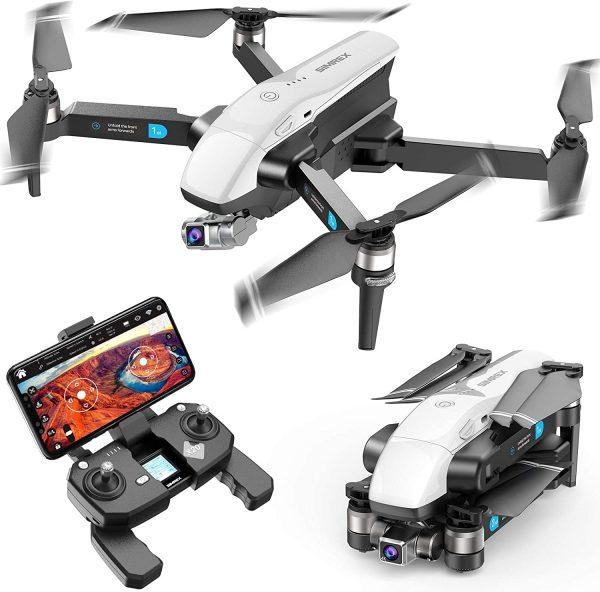 SIMREX 4K HD FPV Camera Foldable Drone