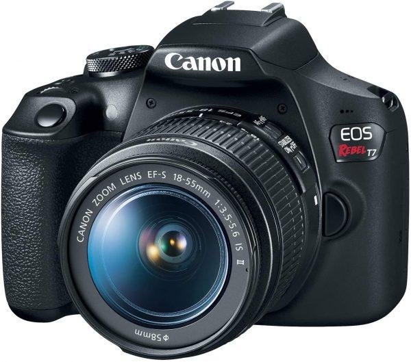 Canon EOS Rebel T7 DSLR Digital Camera