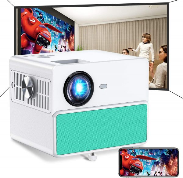 TOWOND 7000Lux Portable Projector
