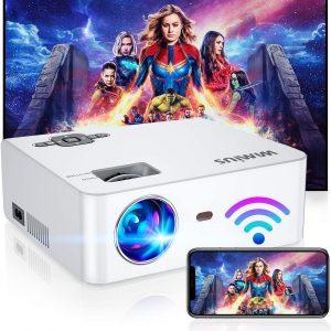 WiMiUS Portable Wi-Fi Projector