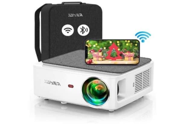 YABER V6 Wi-Fi Bluetooth Projector