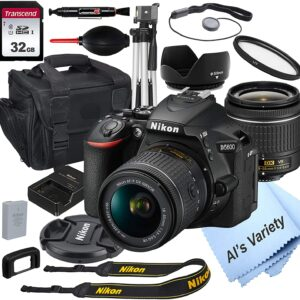 Nikon D5600 DSLR Digital Camera Bundle