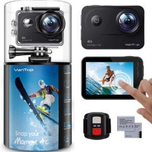 VanTop Moment 4C 4K 60FPS Sports Action Camera