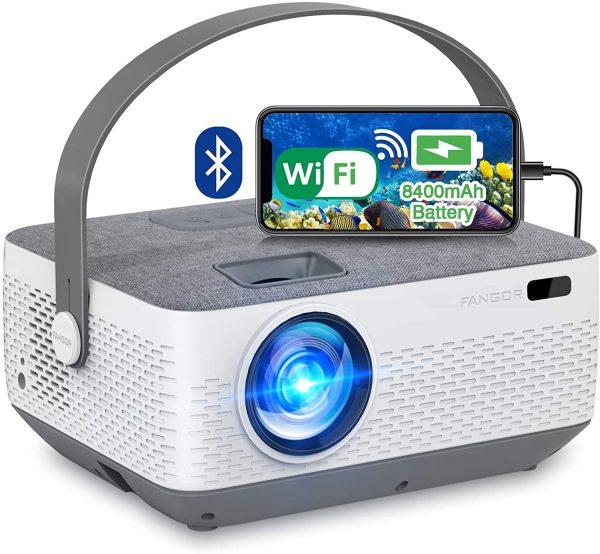FANGOR Wireless Portable Projector