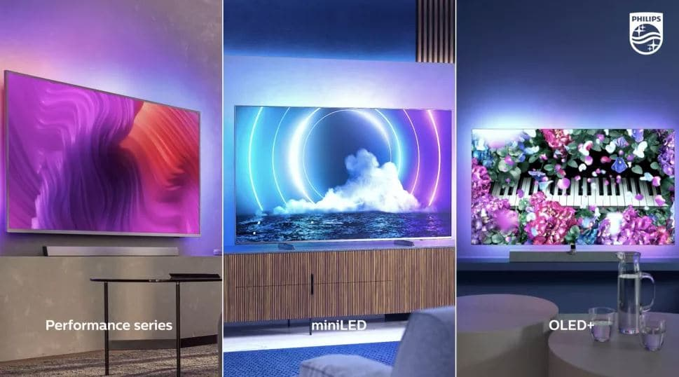 Philips unveils new OLED and MiniLED TVs