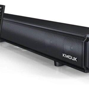 KMOUK Sound Bar with Built-in Subwoofer Review