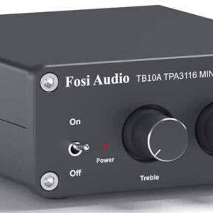 2 Channel Stereo Audio Amplifier