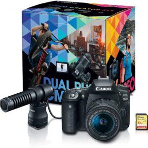 Canon DSLR Camera Vlogging Content Creator Kit