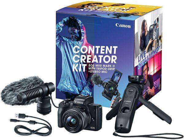 Canon EOS M50 Mark II Content Creator Kit