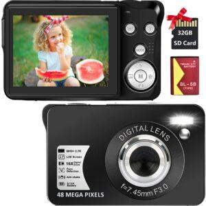 SEREE's 2.7K 48MP Digital Camera Review