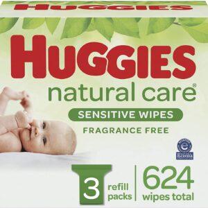 Huggies Sensitive Wipes