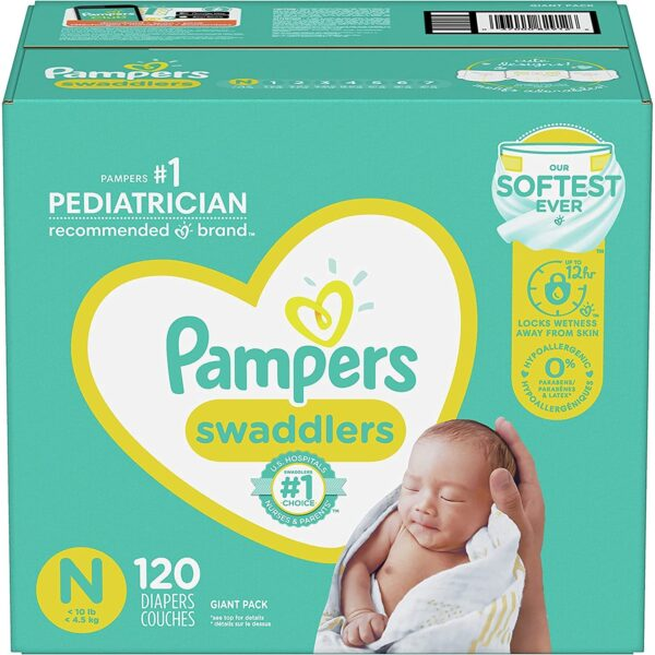 Pampers Swaddlers Baby Diapers