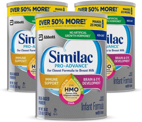 Baby Formula Similac Pro Advance