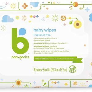 Babyganics Baby Wipes (Unscented Diaper Wipes)
